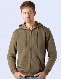 Zip Through Hooded Sweat Jacket