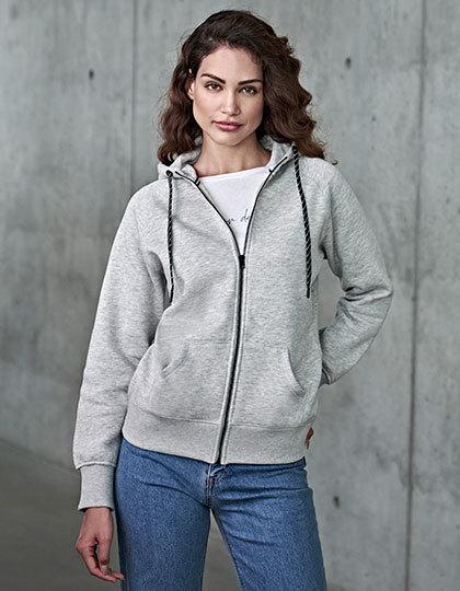 Womens Fashion Full Zip Hood